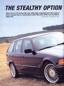 The Stealthy Option - Oct 01 - Alpina B8 - 4.6 Touring